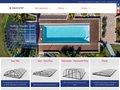screenshot http://aquacomet.fr/ Abri piscines nimes gard