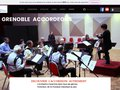 screenshot http://grenoble.accordeons.free.fr Grenoble accordéons