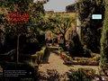 screenshot http://hotel.delorange.free.fr Maison d'hôtes à sommières dans le gard