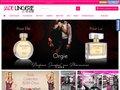 screenshot http://jadelingerie.fr Jade lingerie