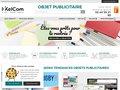 screenshot http://objets-publicitaires-pro.com/ Objets publicitaires