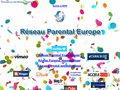 screenshot http://reseau.parental.free.fr/ Réseau parental europe