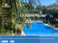 screenshot http://www.acheloos-piscine.com Acheloos piscine, couverture et bache piscine