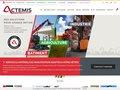 screenshot http://www.actemis-manutention.com Actemis le concessionnaire manitou et toyota