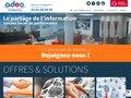screenshot http://www.adeoinformatique.com Adeo infomatique