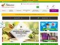 screenshot http://www.adiserve.fr Adiserve, la vaisselle éphémère design starck