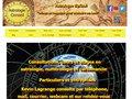 screenshot http://www.astrologieconseil.com Astrologie conseil le site de kevin lagrange