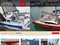 screenshot http://www.atout-nautisme.com Atout nautisme, chantier naval à lorient
