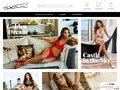 screenshot http://www.axamishop.fr Axamishop.fr : marque de lingerie femme