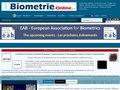 screenshot http://www.biometrie-online.net Biometrie online, sécurité, contrôle d'accès