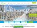 screenshot http://www.camping-fouesnant.com Camping kost-ar-moor – camping 3 étoiles