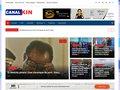 screenshot http://www.canalkin.com Canalkin.com - musique congolaise 24/7j