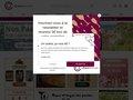 screenshot http://www.cave-spirituelle.com Achat vin, vente vin sur internet