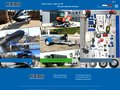 screenshot http://www.cbs-remorques.fr Fabricant de remorques pour bateau, jets, quads