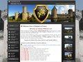 screenshot http://www.chateauxmedievaux.com Chateaux médiévaux de l'ouest
