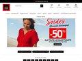 screenshot http://www.christine-laure.fr Christine laure prêt à porter féminin