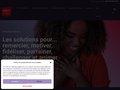 screenshot http://www.coffret-cadeaux.com Coffret cadeaux liberty : cadeaux d'entreprise