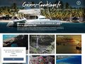 screenshot http://www.croisieres-guadeloupe.fr Croisieres guadeloupe