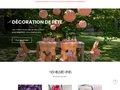 screenshot http://www.dragee-damour.fr Dragées d'amour idées cadeaux mariage et communion