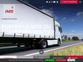 screenshot http://www.fntr.fr Fédération nationale des transports routiers
