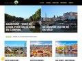 screenshot http://www.gitemasfontvert.com Gite mas fonvert en provence avec piscine
