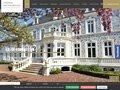 screenshot http://www.hotel-le-wast.com Le château des tourelles - le wast