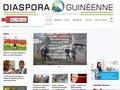 screenshot http://www.kababachir.com Le portail de la communauté guinéenne
