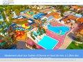 screenshot http://www.la-loubine.fr/ La loubine : camping 4 étoiles en vendée.