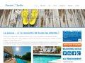 screenshot http://www.piscine-o-jardin.fr/ Piscine-o-jardin