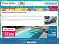 screenshot http://www.piscines-online.com Piscine online