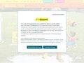 screenshot http://www.pommedapi.com Retrouvez l'univers pomme d'api sur internet