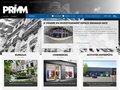 screenshot http://www.primm.fr Vente de bureaux et locations - primm paris