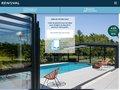 screenshot http://www.renoval-abris-piscine.com Renoval abris de piscine : modèles, photos, devis