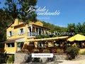 screenshot http://www.restaurant-labastideenchantee.com La bastide enchantée