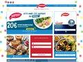 screenshot http://www.saupiquet.com/ Saupiquet - thon en boîte, filets de poissons.