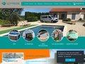 screenshot http://www.sep-piscine.com Sep piscine construction et rénovation piscines 84