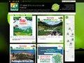 screenshot http://www.stationverte.com/ Station verte destinations de vacances