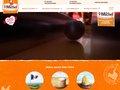 screenshot http://www.stmichel.fr Les galettes st michel, biscuiterie familiale