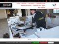 screenshot http://www.tacquet-industries.fr/ Tacquet industries :  conception de machines