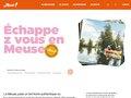 screenshot http://www.tourisme-meuse.com Portail du tourisme en meuse