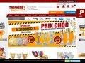 screenshot http://www.tropheesdiffusion.com Trophées diffusion