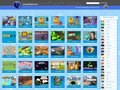 screenshot http://www.universflash.com Site de jeux gratuits en flash