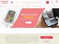 screenshot http://www.vitrinemagique.com Ustensiles de cuisine et objets pratiques à petit