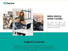Détails : Papricas - agence de référencement