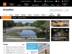 actualité du marché de l'immobilier sur actu.orange.fr
