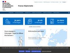 Actus diplomatie.gouv.fr
