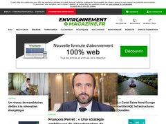 actualité du marché de l'immobilier sur environnement-magazine.fr