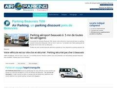 Parking privé pas cher proche Aéroport Beauvais