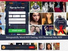 La rencontre sur internet pour les séropositifs. HIV dating site