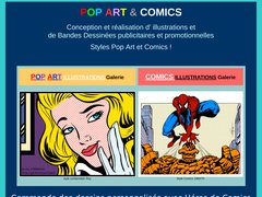 Pop Art et Comics illustrations et BD - Mannuaire.net